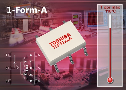 Toshiba announces trio of new high-current photorelays
