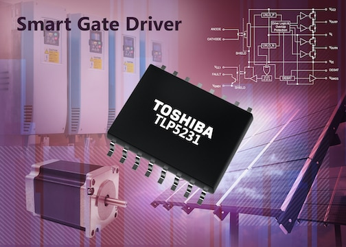 Toshiba announces a new dual output IGBT / MOSFET driver