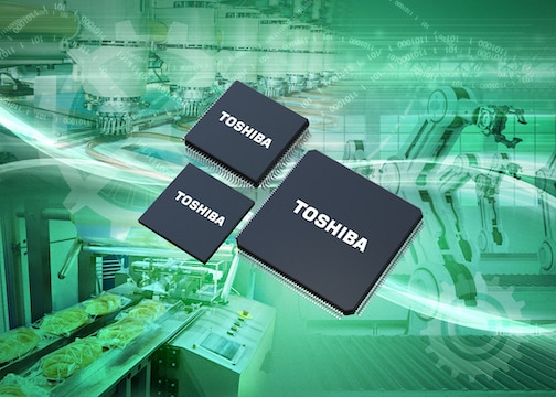 Toshiba Expands 32-bit Microcontroller Product Line-up