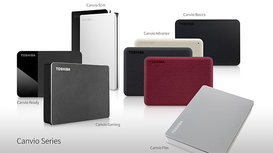Toshiba Releases New Canvio Portable Storage Line Up with New Applications and Designs