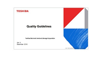 Toshiba Electronic Devices & Storage Corporation Quality Guidelines