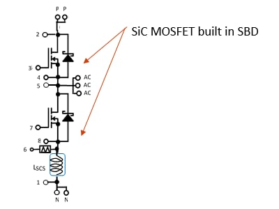 MG800FXF2YMS3 Circuit diagram