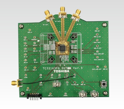 TC32163FG on evaluating board