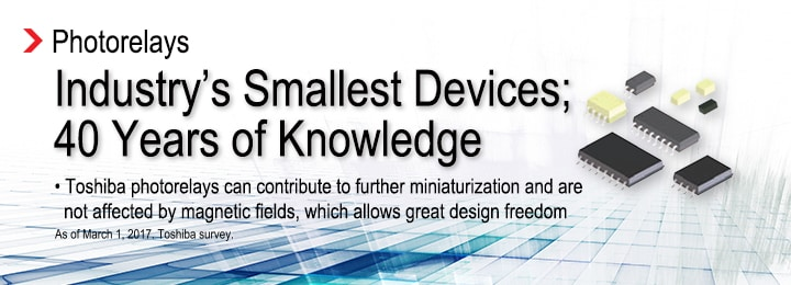 Industry's Smallest Devices; 40 Years of Knowledge